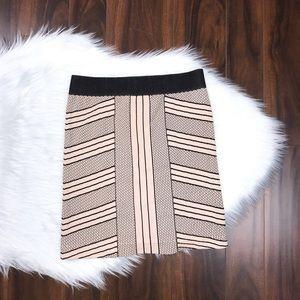 BCBGeneration Stretch Bodycon Fit Skirt Geometric